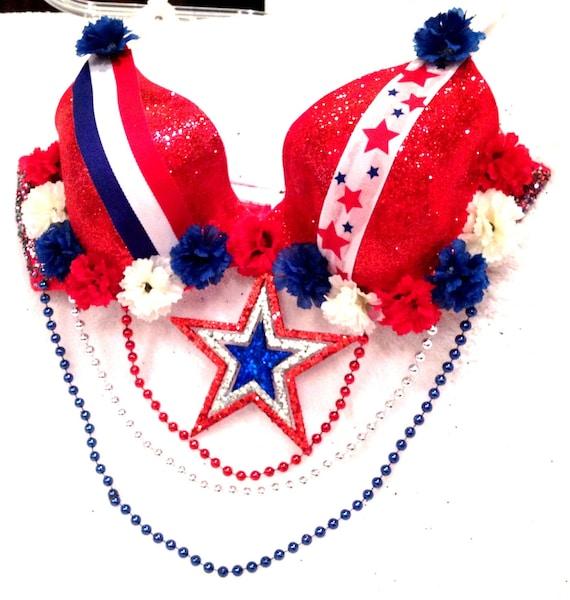 Fourth of July Bra