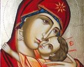 "Virgin Mary""Panagia Glykofilousa"""