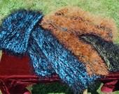 Extra Long Fuzzy Scarves