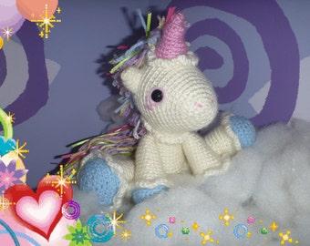 Unicorn Stuffy Etsy