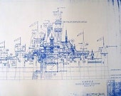 DisneyLand Castle Blueprint