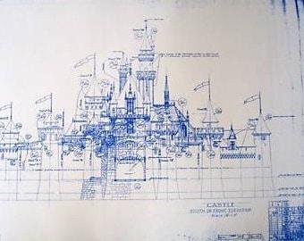 DisneyLand Castle Blueprint