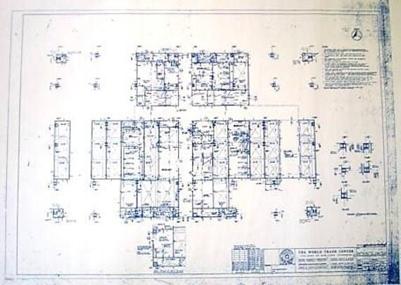 World Trade Center 86th Floor Blueprint