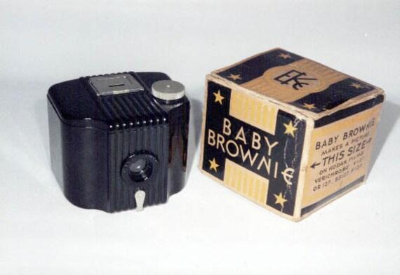 Vintage Baby Brownie 127 Film Camera