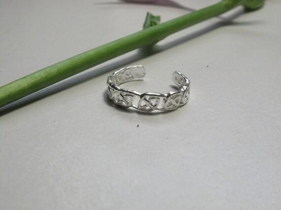 sterling silver toe ring (SSTR011)