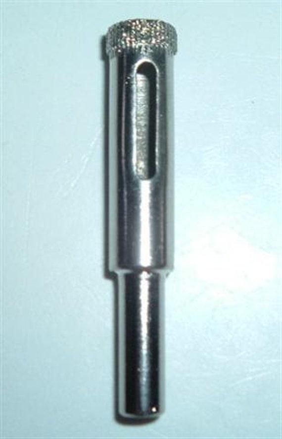 diamond drill bit  3/8 inch hole saw make a insence smoker bottle