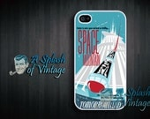 iPhone case Vintage Disney Space Mountain iPhone 4s, iPhone 4 Cover