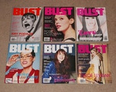 6 Back Issues Of Bust Magazine