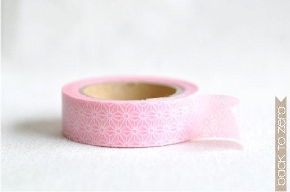 Washi Tape - Pink Stars