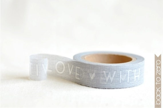 Washi Tape - With Love
