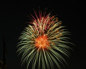 4 x 6 Fourth of July Patriotic Fireworks Photograph