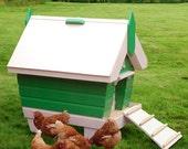 BeachHutchy 2-5 Chicken Coop Plans (pdf)