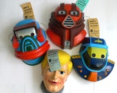 Vintage MASK Masque César Set of 4 M.A.SK. Kenner 1980's
