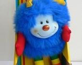 Vintage Rainbow Brite CHAMP Blue Sprite doll MIB Hallmark Mattel 1983