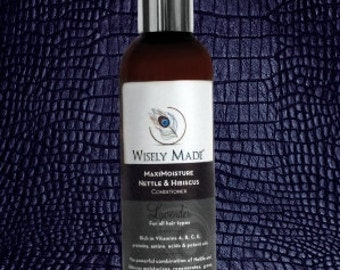 Hair Conditioner, Natural Hair Care, Lavender, Hibiscus, Nettle, Hair Treatment, Hair Care, Bath and Beauty, Hair Growth, Hair Regrowth
