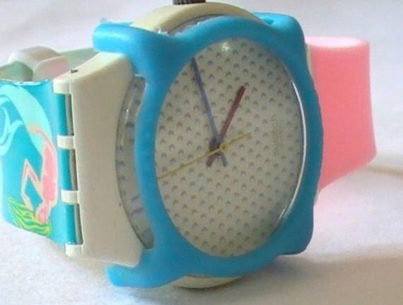 "Vintage Swatch Watch: ""Swiss"""