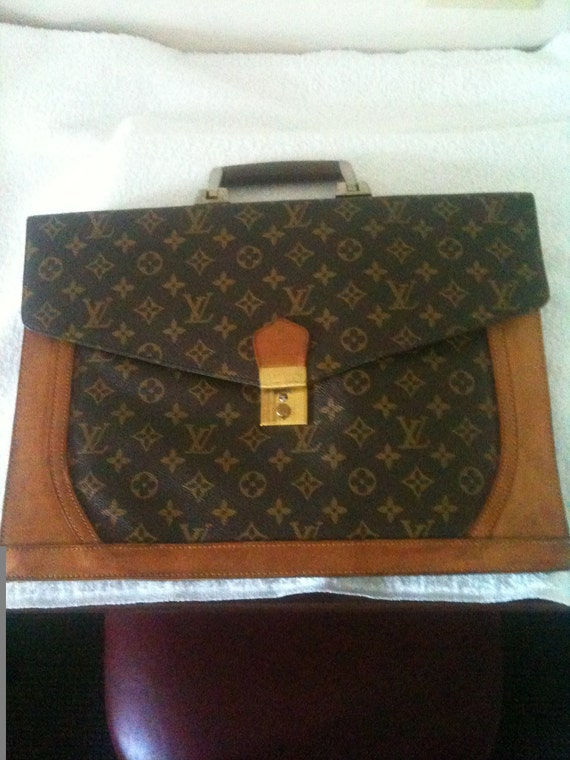 Vintage Louis Vuitton Briefcase Document Holder