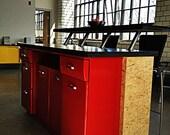 Upcycled Kitchen Island/Bar