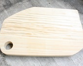 Oblonged Shaped Soft Maple Cutting-board