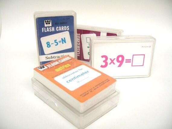 Flashcards - Mathematics by Whitman - Vintage