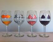 Bikini Wine Glasses