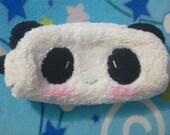 Plush Panda Cosmetic Makeup Bag Pouch