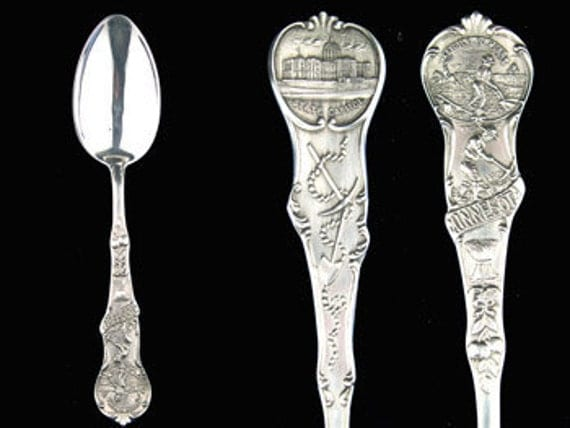 VINTAGE Sterling Silver Minnesota Watson and Newell Co. Souvenir Spoon