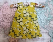 "Baby Girl Dress ""Make Mine Mustard"""