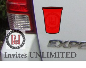 Red Solo Cup Decal