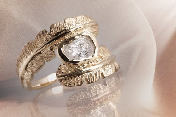Feathered Ring