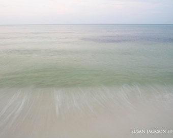 Florida Ocean Photograph - Fine Art - Beach - Gulf of Mexico - Seaside, Florida