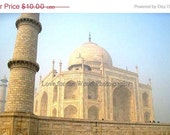 Sale Save 25% The Taj Mahal - 8x10 Photograph, Additional sizes and canvas options are available, see below for details. - Lovefortheworld