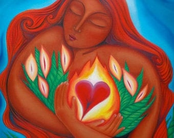 Mary Magdalene of the Burning Heart