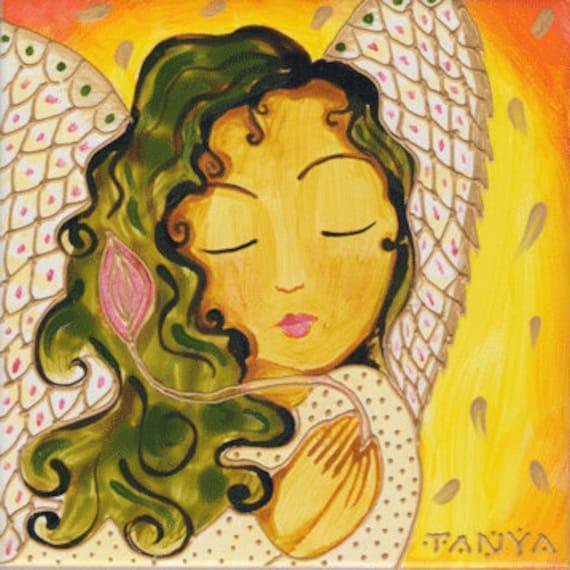 Resultado de imagen para angelito de las flores y semillas