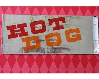 50 Retro Hotdog Bags Circus Carnival