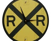 Railroad Crossing Clock
