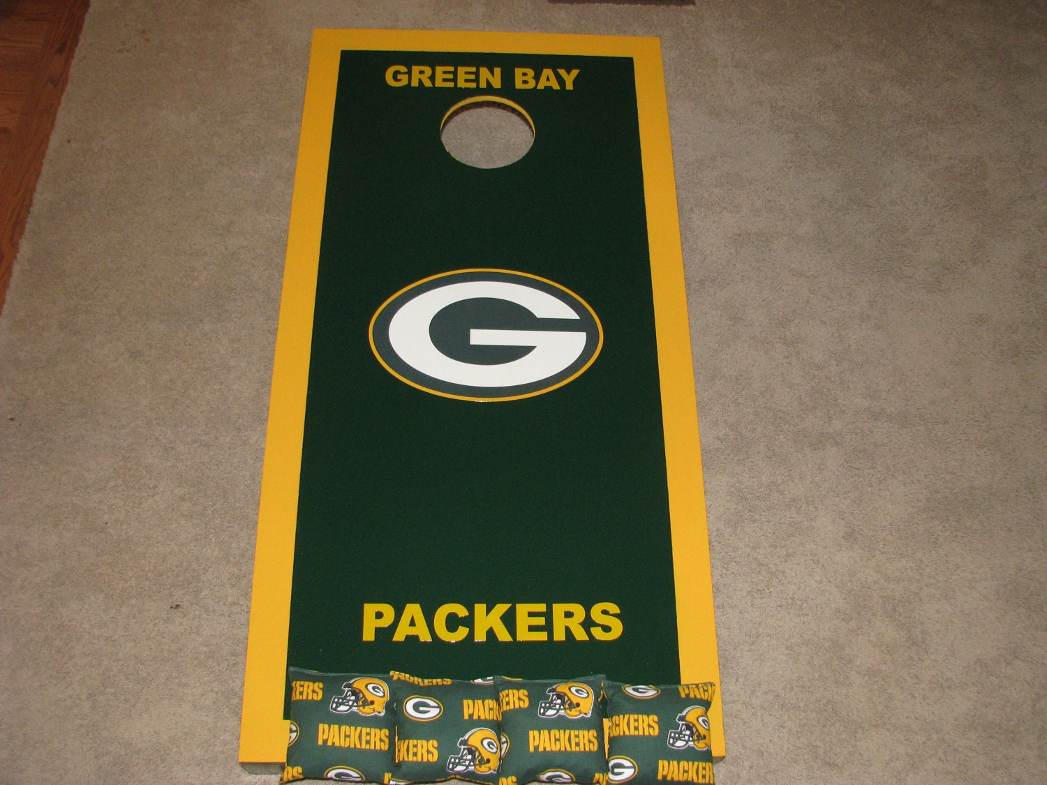 Green Bay Packers Cornhole Boards Pictures To Pin On
