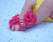 Reserved listing for janwilson2 ---Upcycled Barefoot Sandals