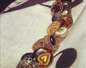 Gypsy Button Bracelet