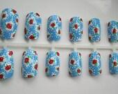 Cath Kidston floral nail art set