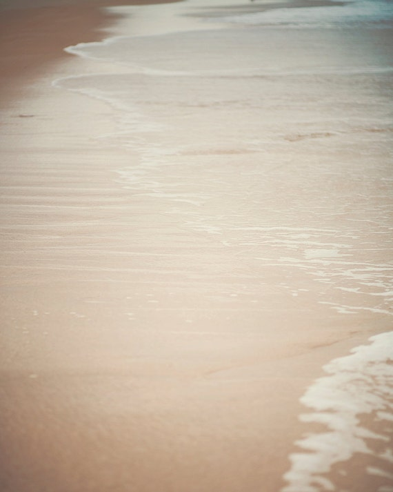 Where land meets sea - Photographic Print - Beach, Coastal, Ocean, Summer, Cottage, Waves, shore, shoreline