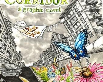 The Pollinator's Corridor, a graphic novel