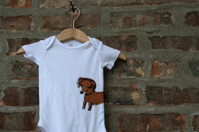 Dachshund baby clothing dachshund baby gift dachshund for T shirt printing westerville ohio