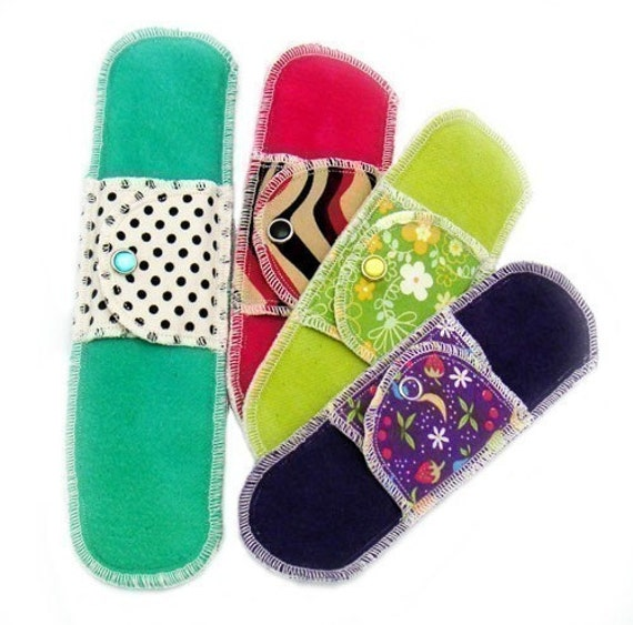 Organic Sample Pack Moonpads Cloth Menstrual Pads
