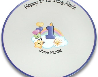 Care Bears Inspired 1st Birthday Signature Platter