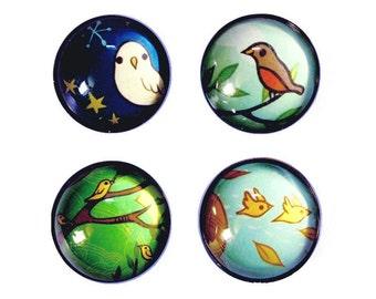 Seasons : 4 seasons magnets, FOUR SEASONS magnets spring decor summer decor winter decor autumn decor fridge magnets boygirlparty