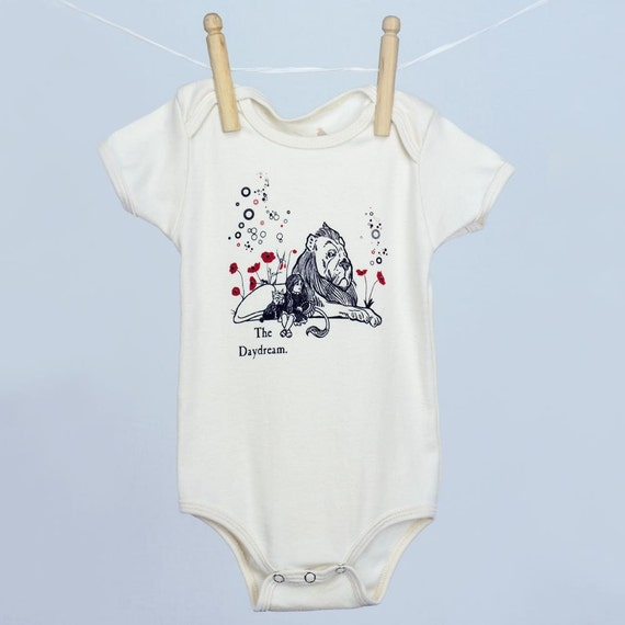 The Daydream Wizard of Oz Organic baby infant one piece tagless