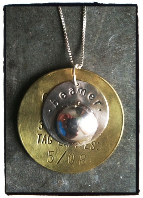 Pet Remains Memorial Pendant with Tag