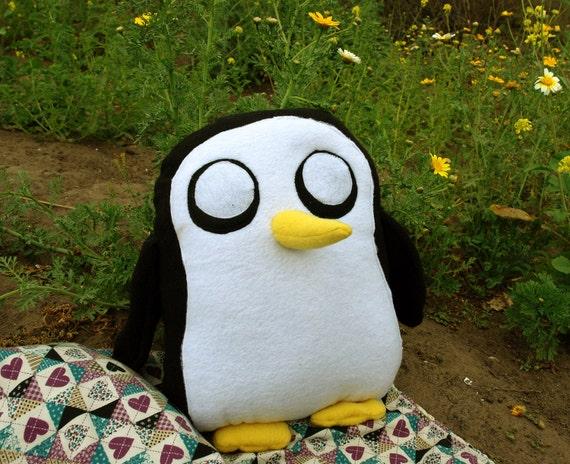 Blue Gunter the Penguin size SMALL plush Adventure Time toy