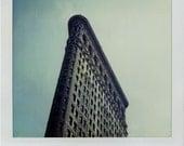 Polaroid Print 5x7 -  Flatiron Building - New York City